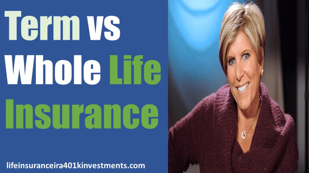 Term vs Whole Life Insurance