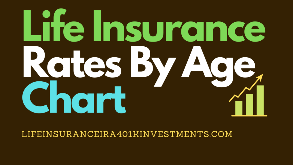 Life Insurance Rates By Age Chart