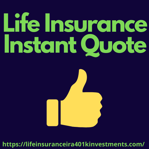 Life Insurance Instant Quote